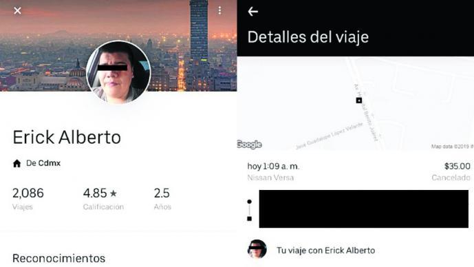 uber secuestro brenda mujer se avienta se salvó ataque conductor central del norte