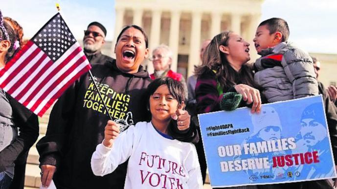 familias custodia hijos migración migrantes deportados estados unidos