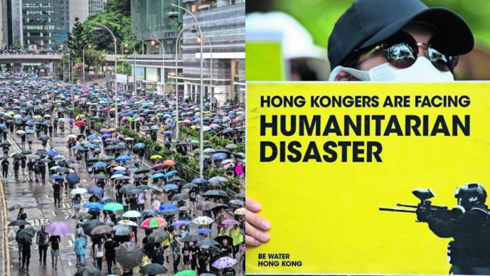 Hong Kong manifestaciones China Estados Unidos