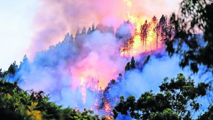 mega incendio españa