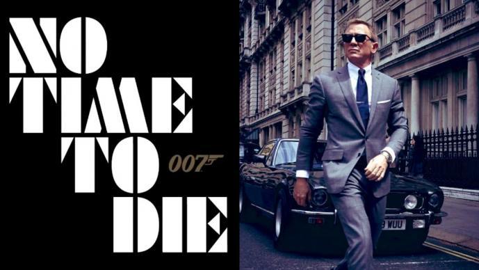 No Time To Die el título de la película número 25 de James Bond