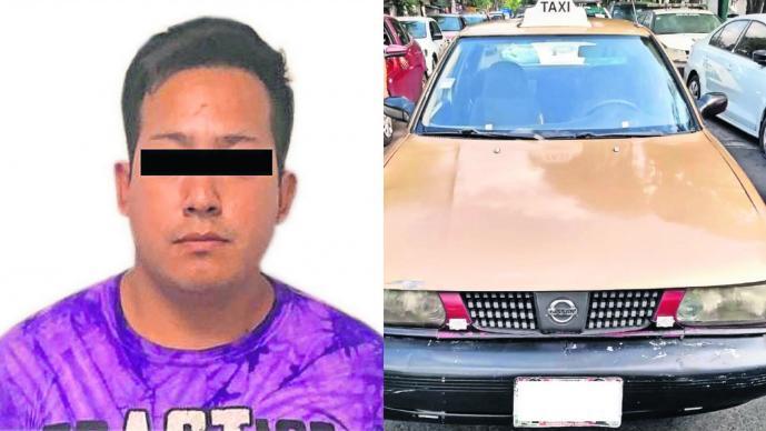 Taxista violador CDMX Iztapalapa