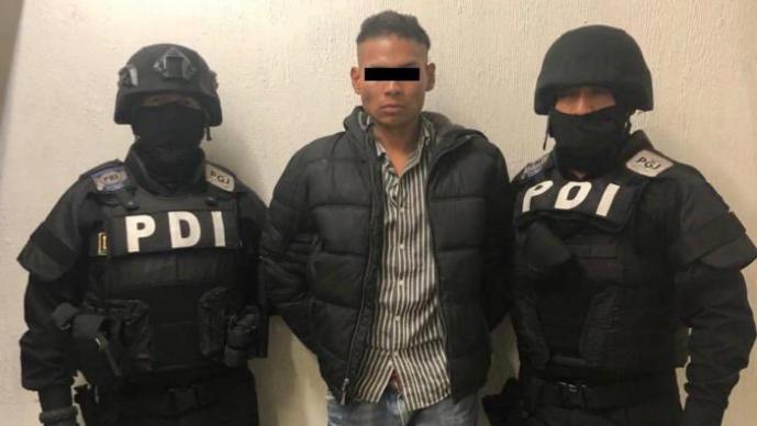 detienen a el chupas agresor de reportero adn40