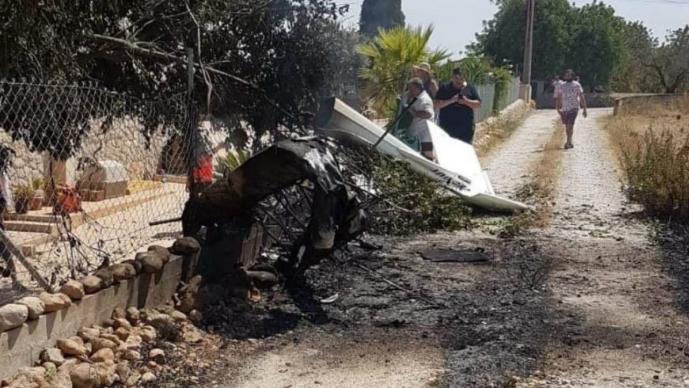accidente aereo muertos mallorca helicóptero víctimas niños menores de edad españa