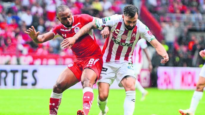 Necaxa y Toluca no se hacen daño en el Estadio Victoria