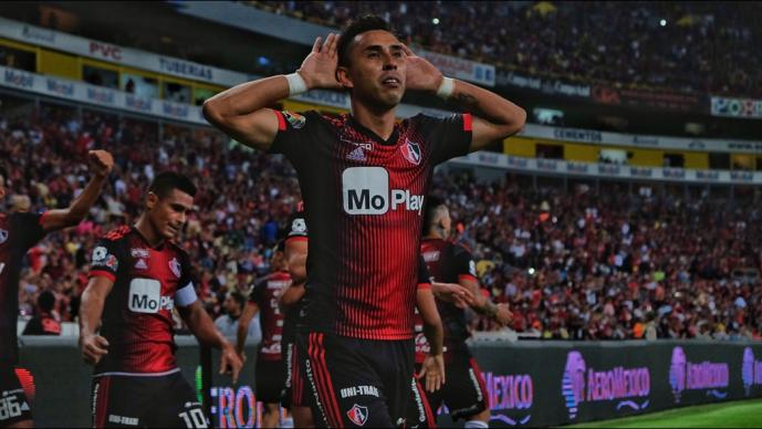 Tigres rescata el empate en tiempo de compensación ante el Atlas