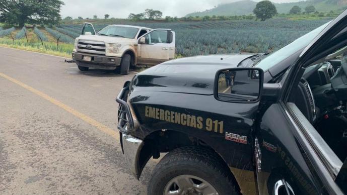 Mueren tres presuntos criminales tras intento de emboscada contra policías en Amatitán