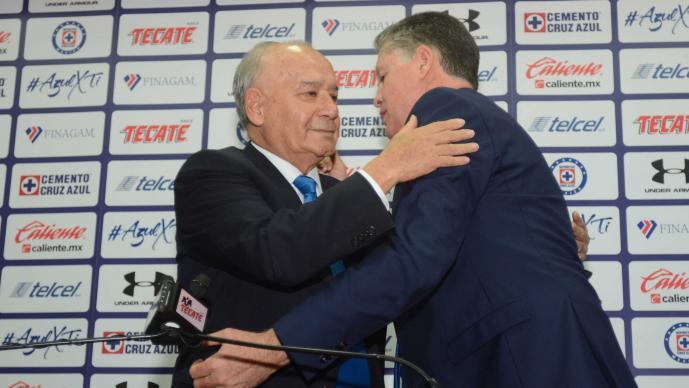Ricardo Peláez aún no renuncia formalmente a Cruz Azul