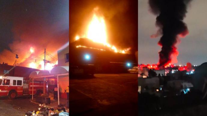 incendio colonia morelos tepito se quema bodega cdmx