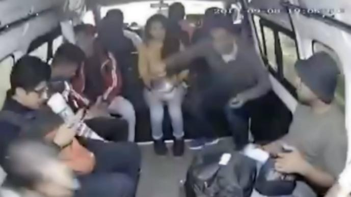 asalto combi Cuautitlán Izcalli