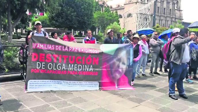 Movimiento Antorchista joven fallecida enfrentamiento Edomex
