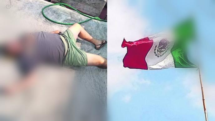 muere pone bandera temixco mexico 15 de septiembre