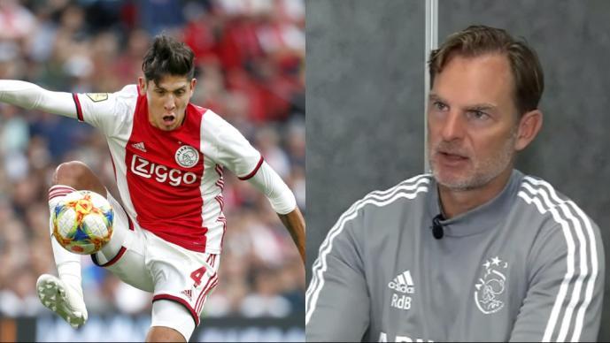 Edson no tiene la calidad con la pelota: Ronald de Boer