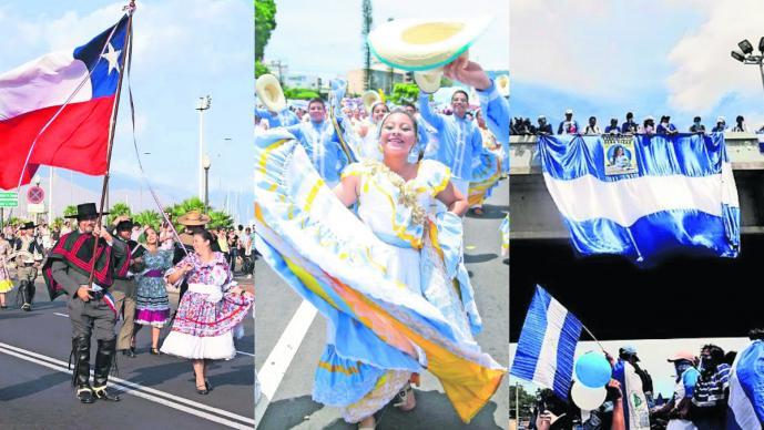 paises celebran independencia México nicaragua el salvador honduras costa rica