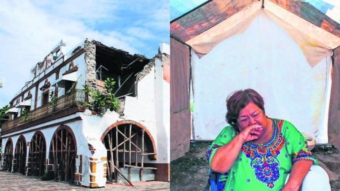 desamparo reconstrucción casas damnificados jojutla reconstrucción sismo daños sismo 19-s sismo morelos