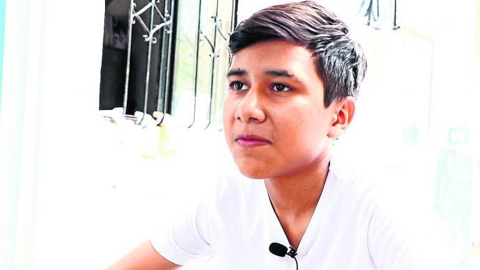 estudiante sobreviviente 19-S Morelos