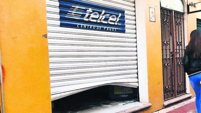 roban tienda de celulares en Morelos