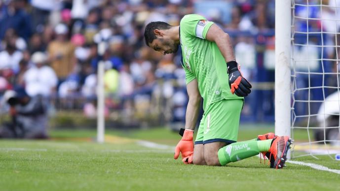 'Chuy' Corona reconoció su error ante Pumas