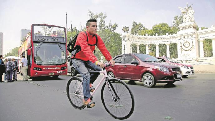 ciclista cdmx domingo