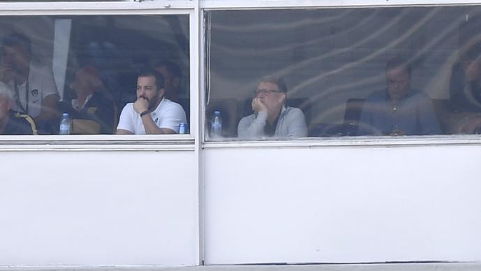 'Tata' Martino asistió al Pumas vs Cruz Azul