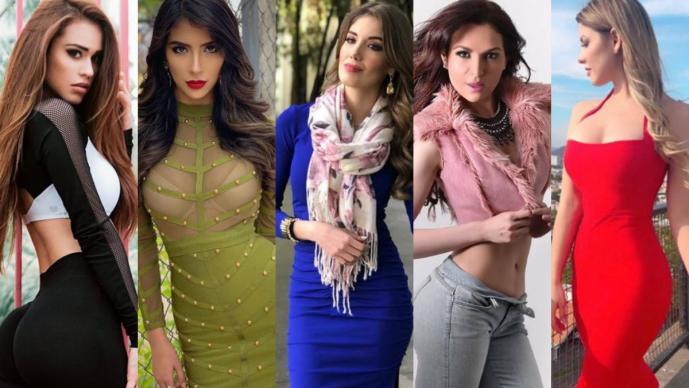 chicas del clima méxico instagram sexy modelos frente frío conductoras