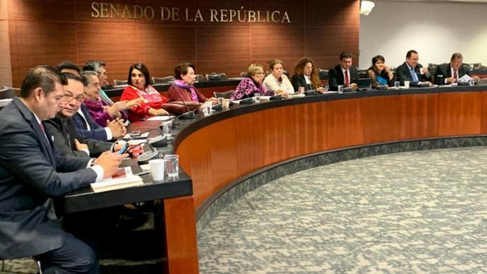 senadores morena buscan desaparecer poderes tamaulipas guanajuato iniciativa martí batres