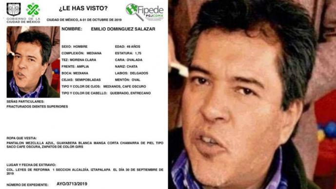 emilio dominguez salazar profesor desaparecido hallan muerto cuarto hotel oaxaca homicidio suicidio se quitó la vida