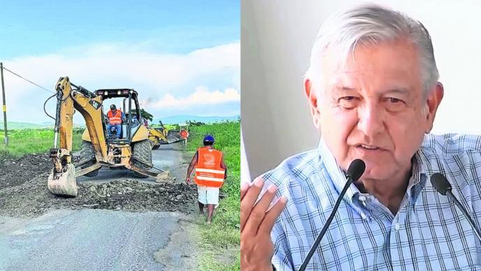 amlo llamado cuauhtémoc blanco reparar calles carreteras morelos obras públicas
