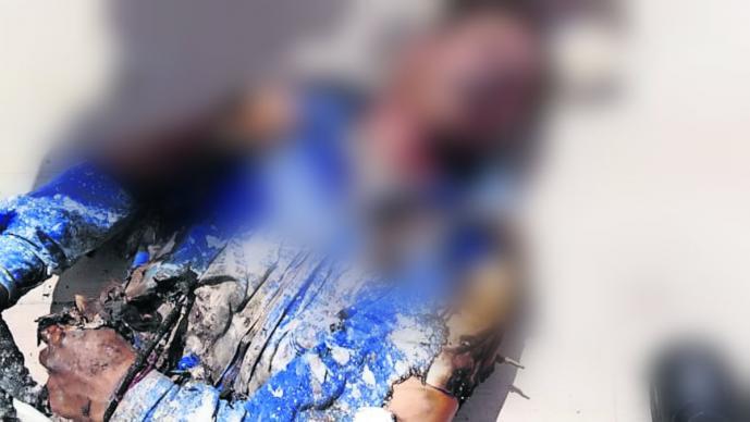 pintor muere electrocutado accidente cables de alta tensión el calvario