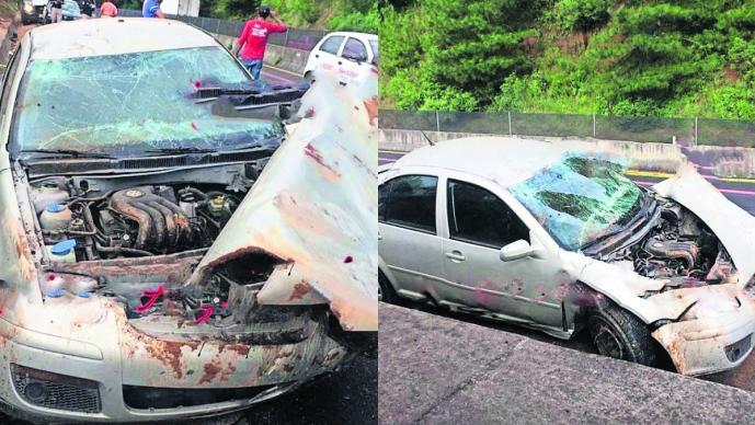Accidente carretero Tenango-Ixtapan de la Sal