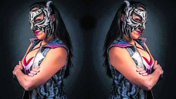 guerrera isis lucha libre profesional femenil