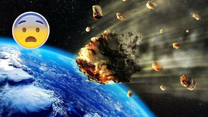 ¡Peligro! Asteroide podría chocar con la Tierra en esta fecha