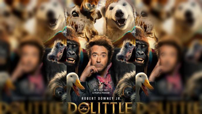 dr dolittle downey iron man