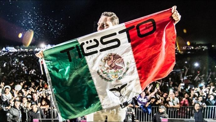 DJ Tiësto se presentará en el GP de México