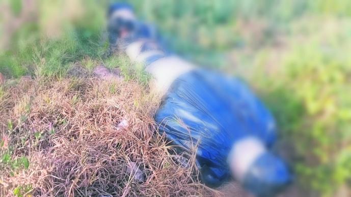 hallan cadáver hombre envuelto bolsas negras cinta terreno cultivo colonia industrial chalco