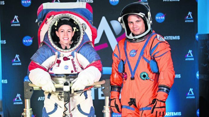 NASA nuevos trajes espaciales