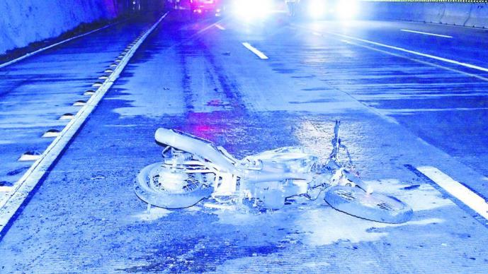 Motociclista atropellado Cuernavaca