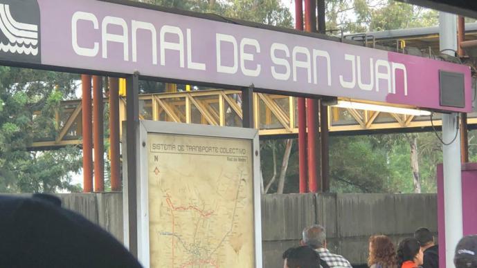 metro, muerto, infarto, canal de san juan