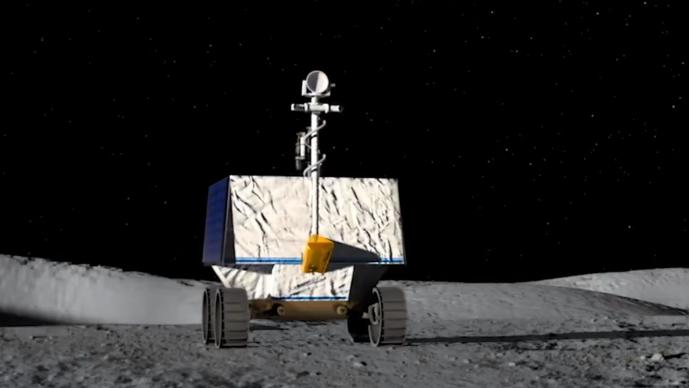 Viper NASA Luna agua