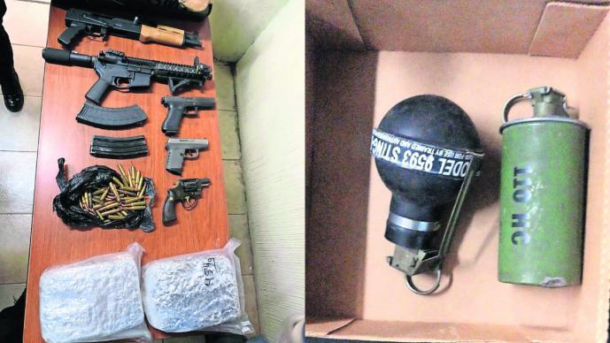 detienen integrantes la unión tepito drogas armas cateo casa colonia guerrero el lunares