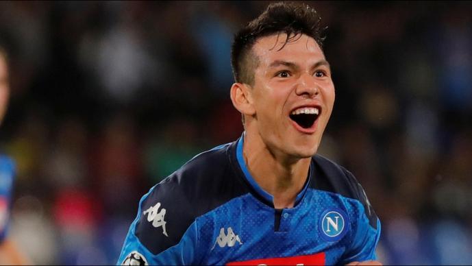 Así quedó la pierna de Hirving Lozano tras anotación en Champions League
