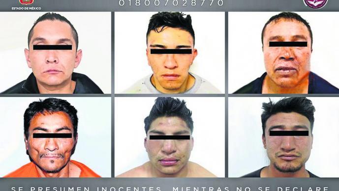 vinculan a proceso a seis hombres acusados de secuestrar