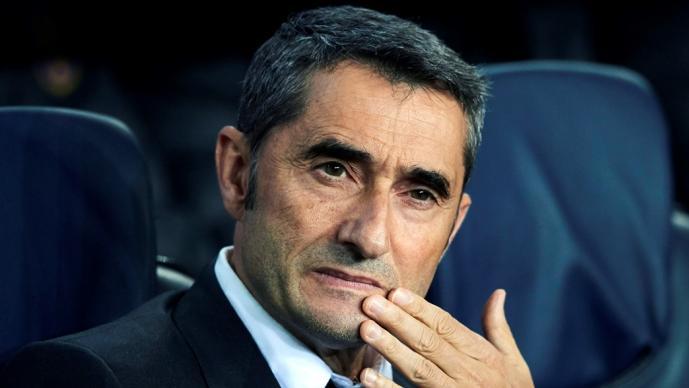 Valverde está consciente del momento que vive el Barcelona