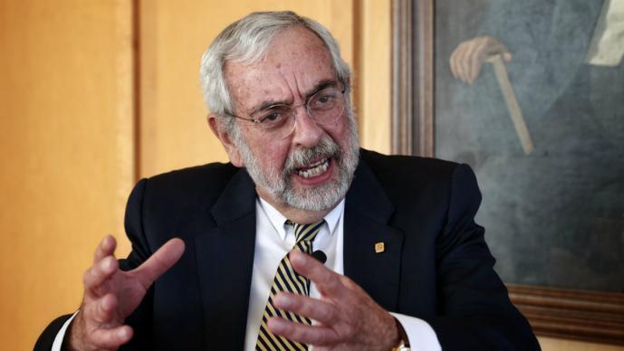 Por un segundo periodo designan a Enrique Graue Wiechers como rector de la UNAM 2