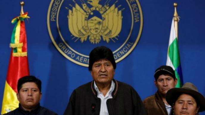bolivia elecciones morales