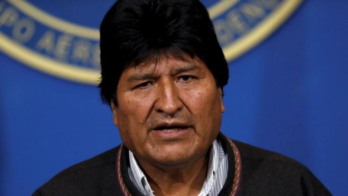evo morales renuncia presidencia bolivia reelección protestas