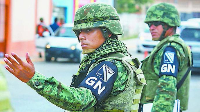 Guardia Nacional quejas derechos humanos