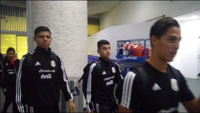Así fue la llegada de la Selección Sub 17 a México