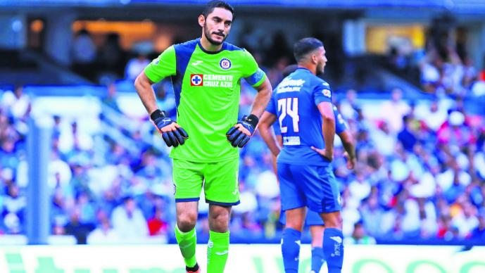 Jesús Corona Cruz Azul Siboldi seleccionado Uruguay