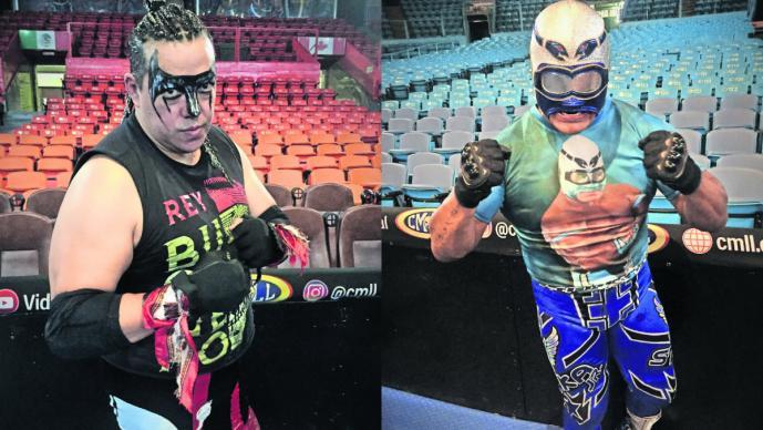 Stuka Jr Rey Bucanero máscara contra cabellera